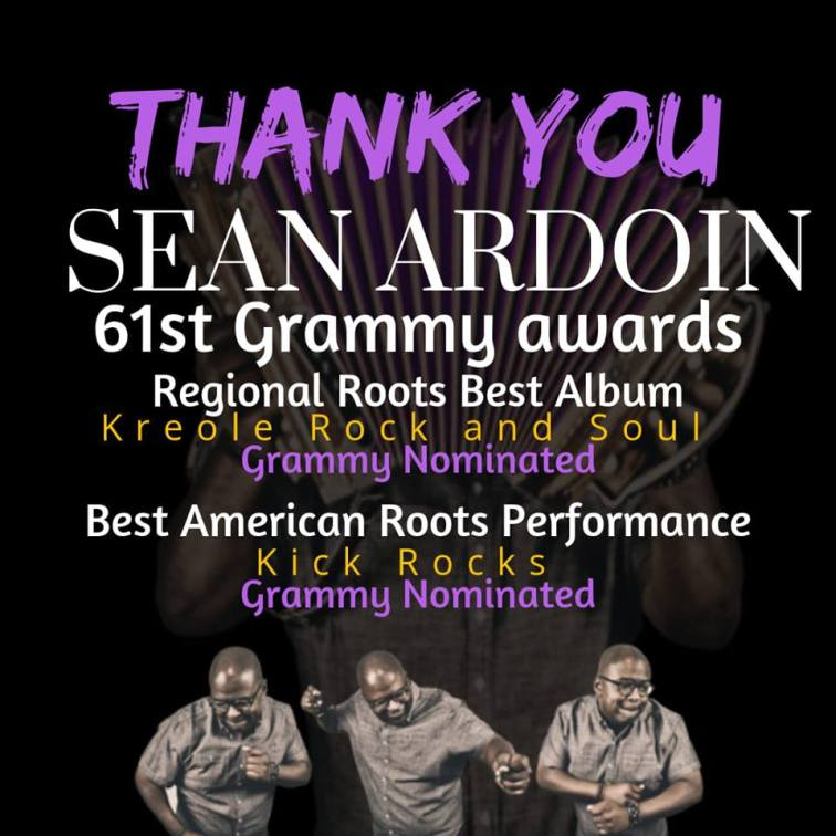 Sean Grammy!